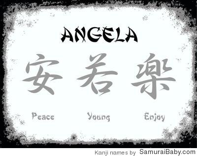 Pin The Name Angela In Graffiti on Pinterest